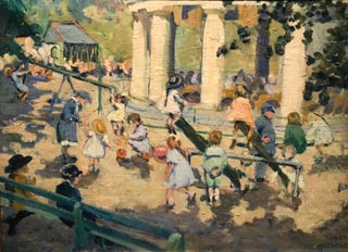 Playground, 1923 Collection of Elizabeth G. Lampen