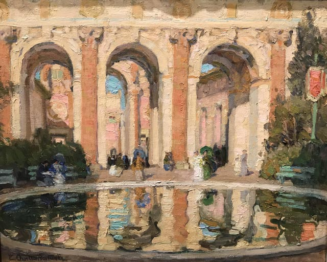 The Pool, Court of the Four Seasons, c1915 Collection of Marie and Murray Demo