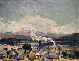 View of Monterey, 1919 Collection of Stephen P. Diamond, M.D.