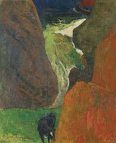 Gauguin_Paul_Seascape_with_Cow