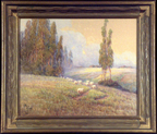 Grace Allison Griffith Sheep Hills and Eucalyptus Thumbnail