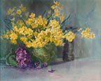 Anna Althea Hills Yellow Daffodils Thumbnail