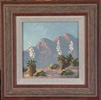 Kathi Hilton Flowering Desert with Frame Thumbnail