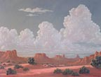 Kathi Hilton Monuments and Clouds Thumbnail