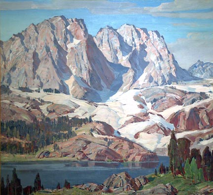 Paul Lauritz The High Sierra