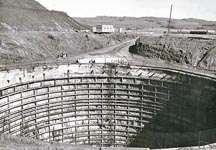Bodega Bay's Hole in the Head under Construction in the early 1960's