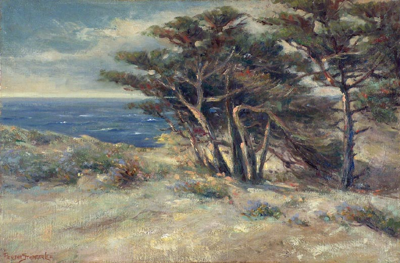 Bertha Stringer Lee Carmel by the Sea