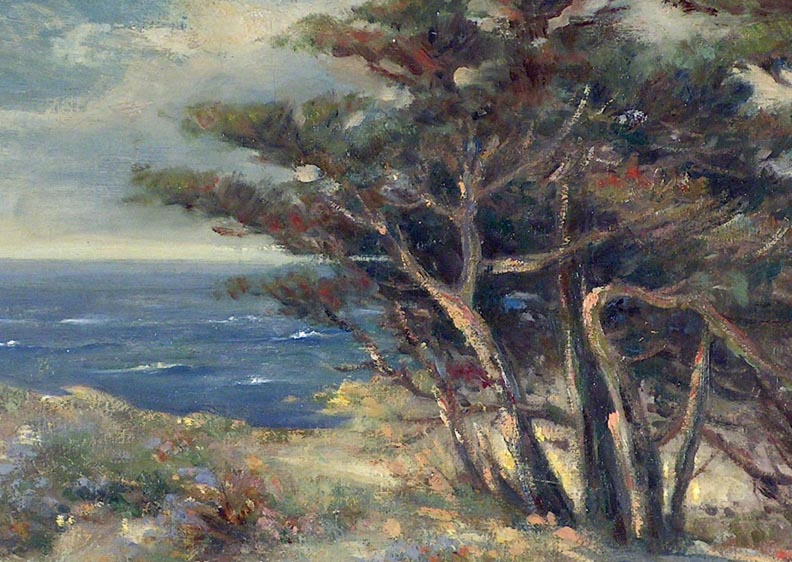 Bertha Stringer Lee Carmel by the Sea Closeup