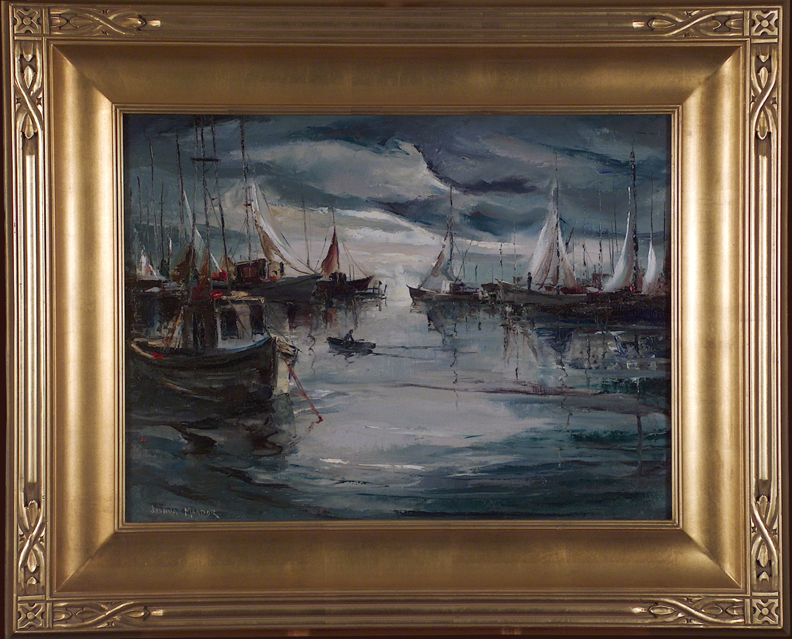Joshua Meador Inner Harbor 813 with Frame