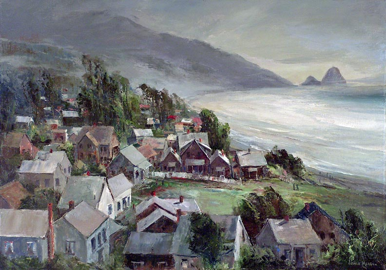 Cannon Beach Oil Painting
