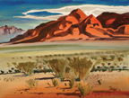 ©Milford Zornes, Morning, High Desert, 1990, McClelland Collection
