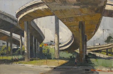 Ralph Hulett Under the Overpass