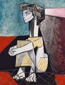 Pablo Picasso Jaquiline with Crossed Hands Thumbnail