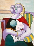Pablo Picasso The Reader Thumbnail