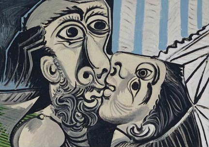 Pablo Picasso The Kiss 1969