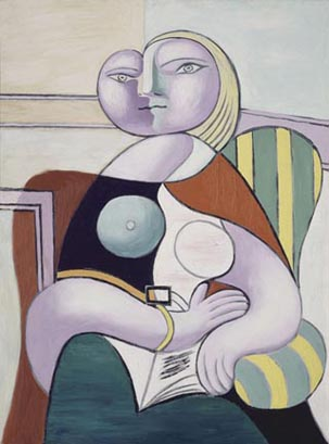 Pablo Picasso Reading 1932