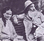 Camille Pissarro with wife Julie
