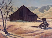 Robert Rishell Old Barn Hills and Oaks