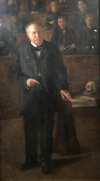 William Smith Forbes, M.D. (Professor Forbes, The Anatomist), 1905 Thomas Eakins, American, 1844-1916