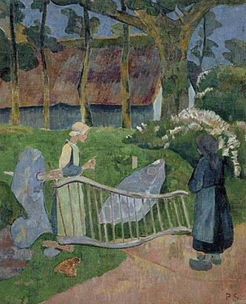 Serusier_Paul_The_Flowery_Fence_Le_Pouldu