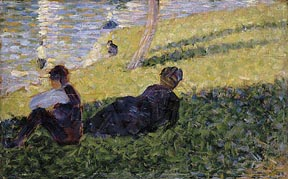Seurat_Georges_Study_for_Afternoon_on_The_Island_of_La_Grande_Jatte