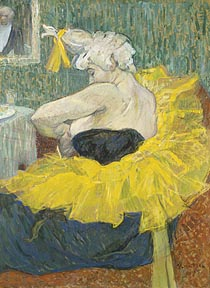 Toulouse-Lautrec Henri de The Clown Cha U Kao