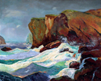 George Abel Warshawsky Seascape Thumbnail