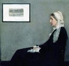 James Whistler Portrait of the Artists Mother Thumbnail
