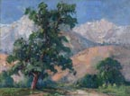 Florence Upson Young Mountain and Tree Thumbnail